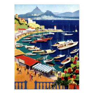 Viaje Atenas Grecia del vintage Tarjeta Postal