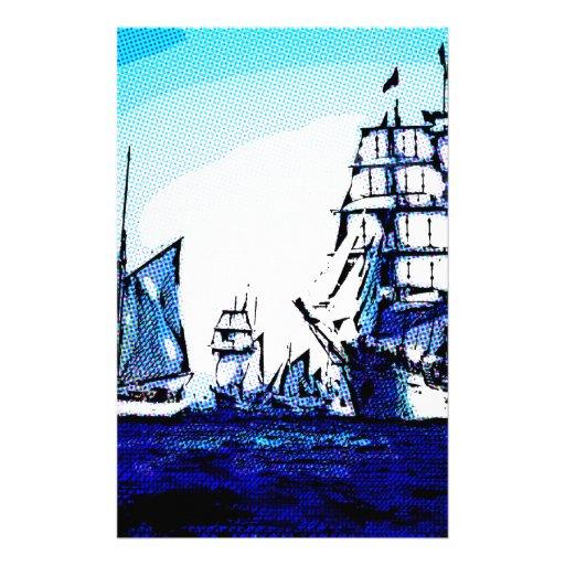 viaje azul papeleria de diseño
