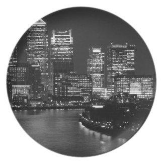 Viaje BRITÁNICO de Londres de la noche blanca Plato De Comida