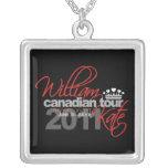 Viaje canadiense 2011 - boda de Guillermo y de Kat Colgantes