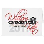 Viaje canadiense 2011 - boda de Guillermo y de Kat Tarjetón