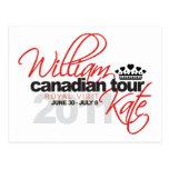 Viaje canadiense 2011 - boda de Guillermo y de Kat Tarjetas Postales