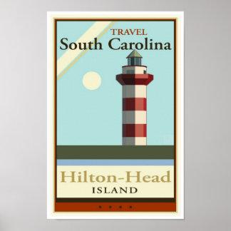 Viaje Carolina del Sur Poster