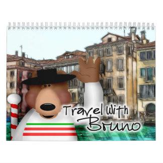 Viaje con Bruno Calendario