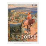 Viaje Córcega, Ajacio del vintage - Postal