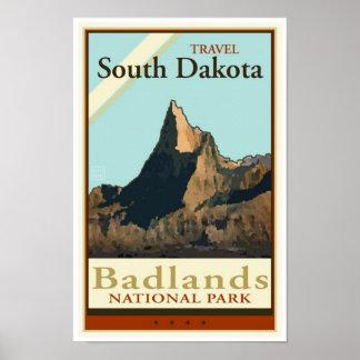 Viaje Dakota del Sur Póster