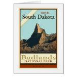 Viaje Dakota del Sur Tarjeta De Felicitación