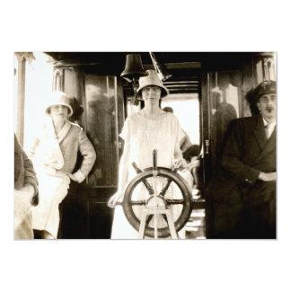 """Viaje de 1925 días invitación 5"""" x 7"""""""