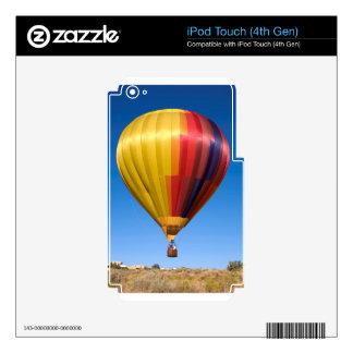 Viaje de aerostación del deporte del globo del calcomanía para iPod touch 4G