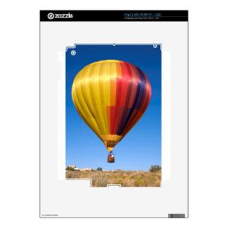 Viaje de aerostación del deporte del globo del iPad 2 skin