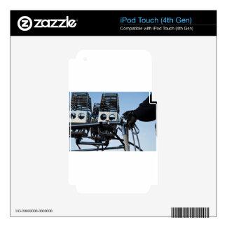 Viaje de aerostación del deporte del globo del iPod touch 4G skins