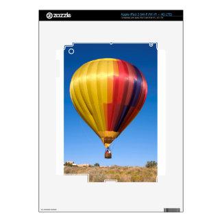 Viaje de aerostación del deporte del globo del pegatina skin para iPad 3
