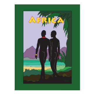 Viaje de África Postales