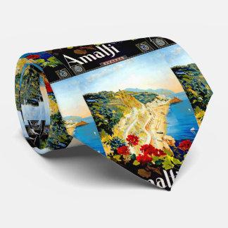 Viaje de Amalfi Italia Europa del vintage Corbata