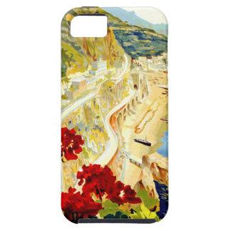 Viaje de Amalfi Italia Europa del vintage iPhone 5 Fundas
