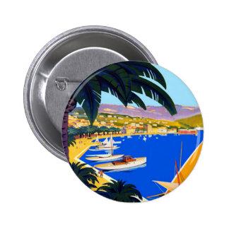 Viaje de Cote d'Azur del vintage Pins