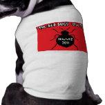 Viaje de Denver de los insectos de cama Camisa De Mascota