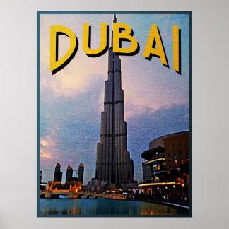 Viaje de Dubai Póster