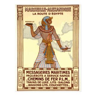 Viaje de Egipto del vintage Tarjetas Postales