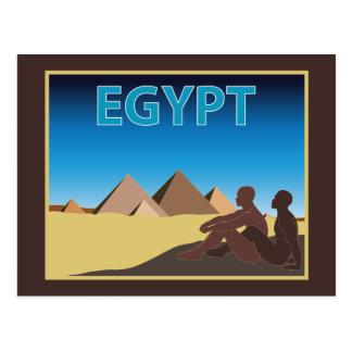 Viaje de Egipto Tarjeta Postal