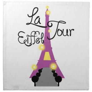 Viaje de Eiffel del La Servilletas De Papel