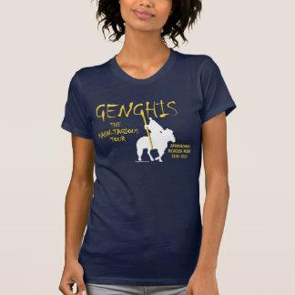 "Viaje de Genghis ""Kahn-tagious"" (el frente oscuro  Camiseta"