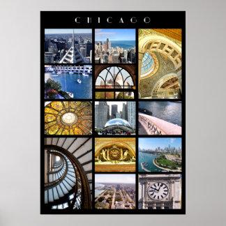 Viaje de la arquitectura de Chicago Póster