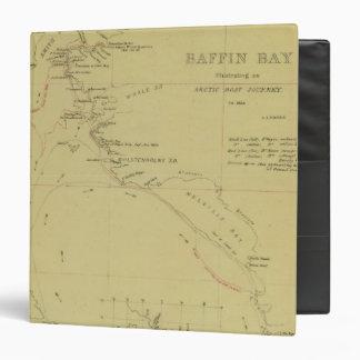 """Viaje de la bahía de Baffin Carpeta 1 1/2"""""""