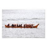 Viaje de la canoa de la isla de Squaxin Cojinete