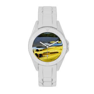 Viaje de la canoa relojes