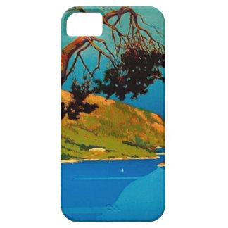 Viaje de la costa de California del vintage iPhone 5 Fundas