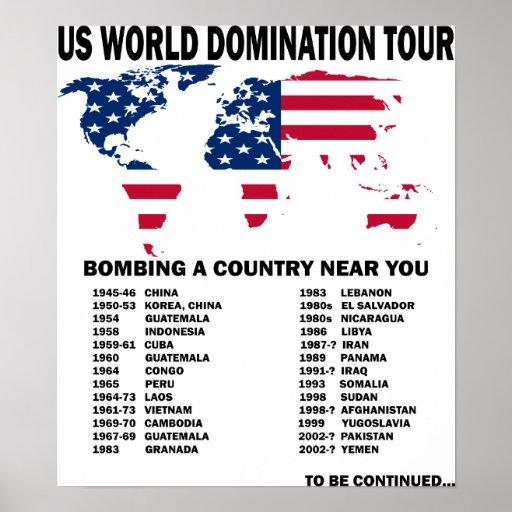 Viaje de la dominación del mundo impresiones