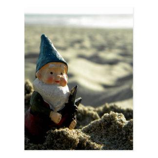 Viaje de la playa postal