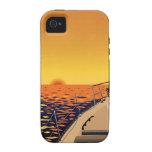 Viaje de la puesta del sol Case-Mate iPhone 4 carcasas