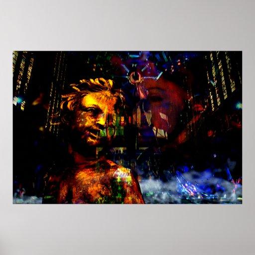 Viaje de las confesiones de Madonna y collage de l Impresiones