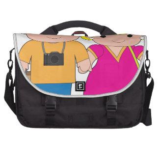 Viaje de los pares bolsas para portátil