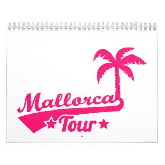 Viaje de Mallorca Calendario De Pared