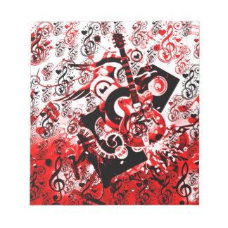 Viaje de Music-Red_ Blocs De Notas