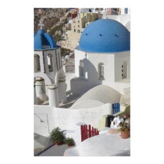Viaje de Mykonos Grecia Personalized Stationery