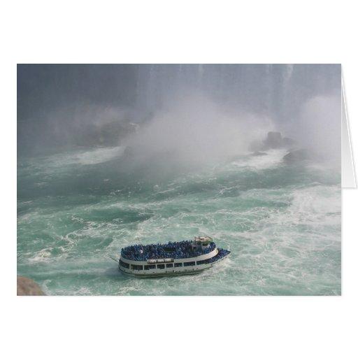 Viaje de Niagara Falls Felicitaciones