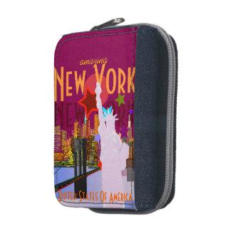 Viaje de Nueva York del estilo del vintage