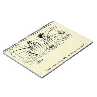 Viaje de pesca cuaderno