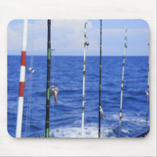 Viaje de pesca tapete de ratones