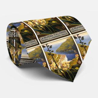 Viaje de Portofino Italia del vintage Corbatas Personalizadas