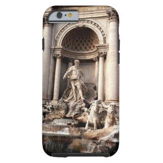 Viaje de Roma Italia de la fuente del Trevi Funda Para iPhone 6 Tough