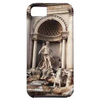 Viaje de Roma Italia de la fuente del Trevi iPhone 5 Fundas