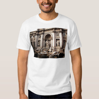 Viaje de Roma Italia de la fuente del Trevi Poleras