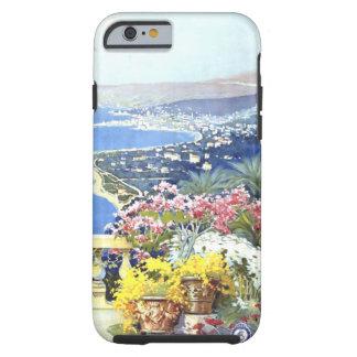 Viaje de San Remo Italia Europa del vintage Funda Para iPhone 6 Tough