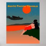 Viaje de South Pacific Poster