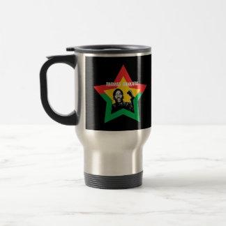 """Viaje de Thomas Sankara """"Che""""/taza del viajero Taza De Viaje"""